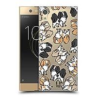 Head Case Designs ジャパーニーズ・チン ドッグブリード・パターン 12 ハードバックケース Sony Xperia XA1 / Dual