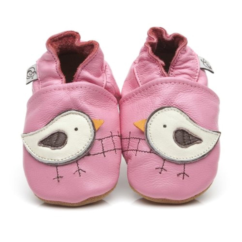 Soft Leather Baby Shoes Bird [ソフトレザーベビーシューズの鳥] 3-4 years (16.5 cm)