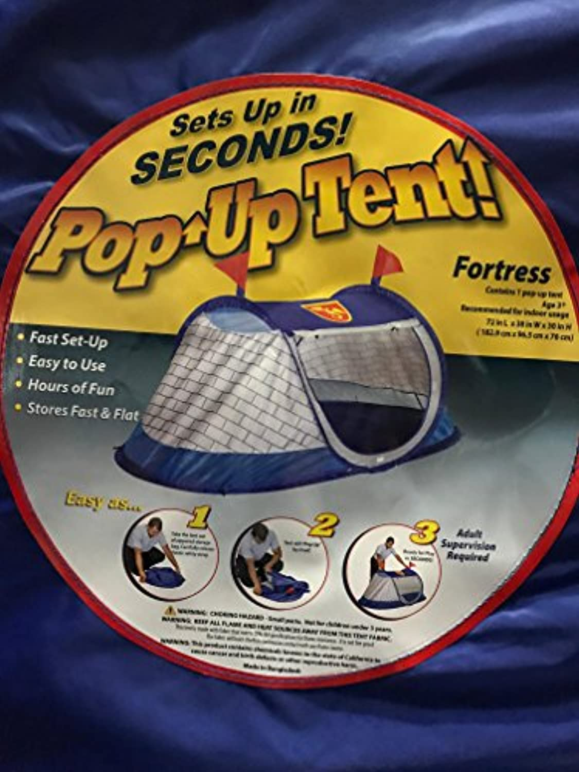 Pop Up Tent-Fortress
