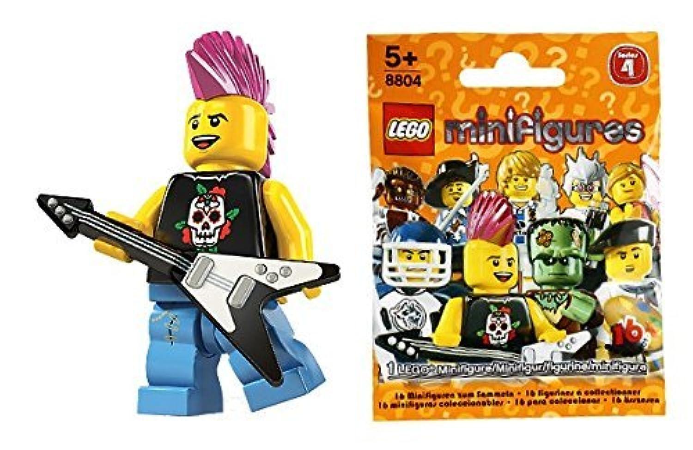 レゴ(LEGO) ミニフィギュア シリーズ4 パンクロッカー (Minifigure Series4) 8804-4