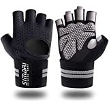 SIMARI Workout Gloves Women Men,Training Gloves Wrist Support Fitness Exercise Weight Lifting Gym Crossfit,Made Microfiber Lycra SMRG902