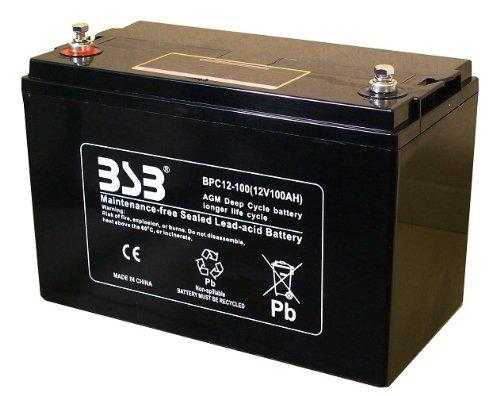 G&Yu [ ジーアンドユー ] 電動車バッテリー [ サイクルサービス ] BPC12-100