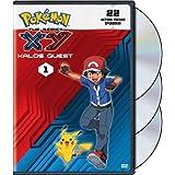 Pokémon the Series: XY Kalos Quest (DVD) Set 1