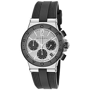[ブルガリ]BVLGARI 腕時計 ディアゴノ ブラック文字盤 DG37C6SCVDCH メンズ 【並行輸入品】