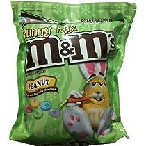 Easter Pastel Peanut M&M's - 56 Ounce Jumbo Size Bag  M&M's バニーミックス ピーナッツ ジャンボサイズ 1587g〔アメリカ直送〕イースター限定
