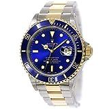 ロレックス ROLEX サブマリーナ デイト コンビ 16613 R番 メンズ 腕時計 ブルー 文字盤 K18YG 自動巻き 【中古】 90087731