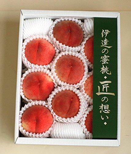 もも 福島県(JAふくしま未来) 伊達の蜜桃、匠の想い 2.3kg、7~9個