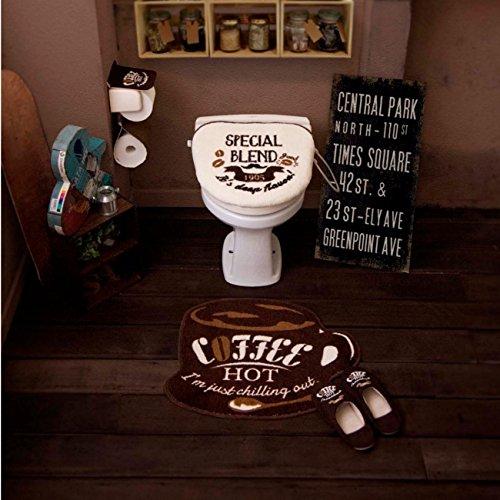 OKATO(オカトー)『COZYDOORS 洋式トイレマット&フタカバー2点セット』