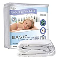 protect-a-bed基本ツインマットレスプロテクター、ツインby protect-a-bed
