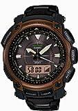 [カシオ] 腕時計 プロトレック Black Titan Limited 世界6局電波対応ソーラーアウトドアギア PRW-5050YT-5JF