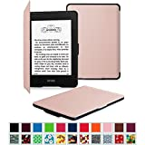 Fintie Amazon NEW-Kindle Paperwhite (2015) と Kindle Paperwhite (第6世代) カバー 最も薄く、最軽量の保護 レザー ケース マグネット機能搭載【Kindle Paperwhite...