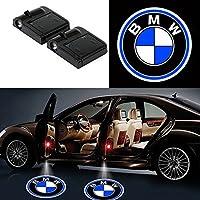 Alichee LED ドアカーテシランプ レーザーロゴライトドアウェルカムライト カーテシライト 2件套 (BMW)