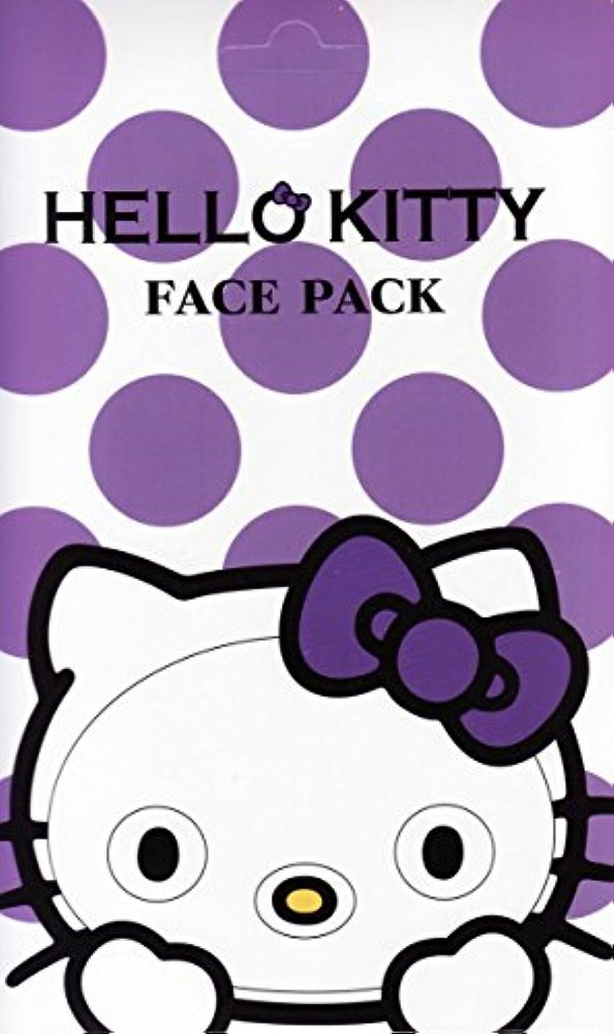 ハローキティ なりきりフェイスパック ラベンダーの香り キティになれるフェイスパック