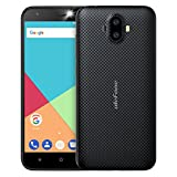 Ulefone S7 (1+8) スマホ simフリー au不可 MediaTekMT6580A 3G 4コア 1.3GHz 2GB+16GB 2500mAh 5.0-inch HD 13MP+5MP Android 7.0 Softlight LED flash GSM WCDMA 黒 金 赤 緑 (黒, (1G+8G))