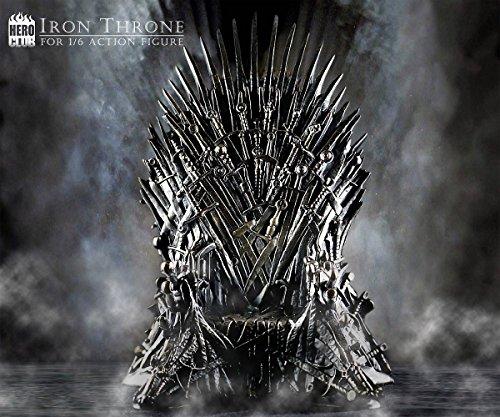 HERO CLUB ゲーム・オブ・スローンズ 1/6スケール 鉄の玉座 Game of Thrones Iron Throne