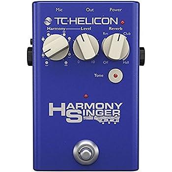 TC HELICON ボーカル用ハーモニー リバーブペダル HARMONY SINGER 2【国内正規品】