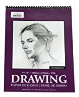Jack Richeson 9-Inch-by-12-Inch Drawing Paper Pad, 30-Sheet Spiral [並行輸入品]
