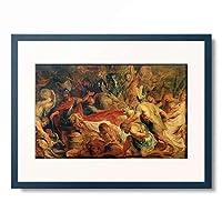 ピーテル・パウル・ルーベンス Peter Paul Rubens 「The funeral of Decius Mus」 額装アート作品