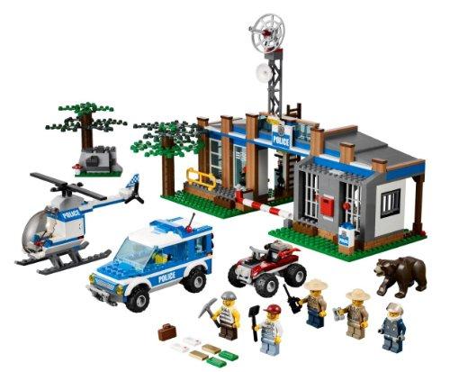 レゴ シティ フォレストポリスステーション 4440