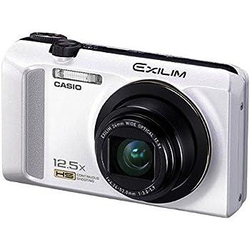 CASIO デジタルカメラ EXILIM EX-ZR200 ホワイト EX-ZR200WE