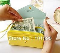 rosbane ( TM )新しい女性のファッション素敵な財布携帯電話バッグクラウン簡潔な財布財布Cluthキュートカードホルダー イエロー Rb-1492416641-Hao- Bag-Yellow