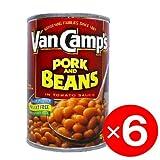 ヴァン キャンプス ポーク&ビーンズ 15オンス425g×6 Van Camp's