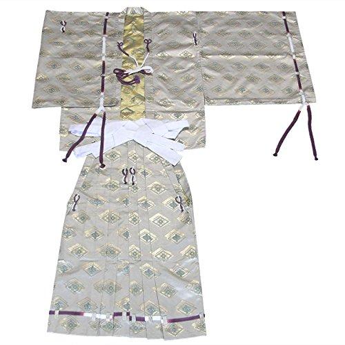 直垂「ひたたれ」(シャンパンゴールド)?直垂と袴のセット
