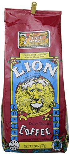 Lion Cofe Hawaii ライオン カフェ ハワイ ミディアム ダーク ロースト コーヒー (粉) 793g×48パック
