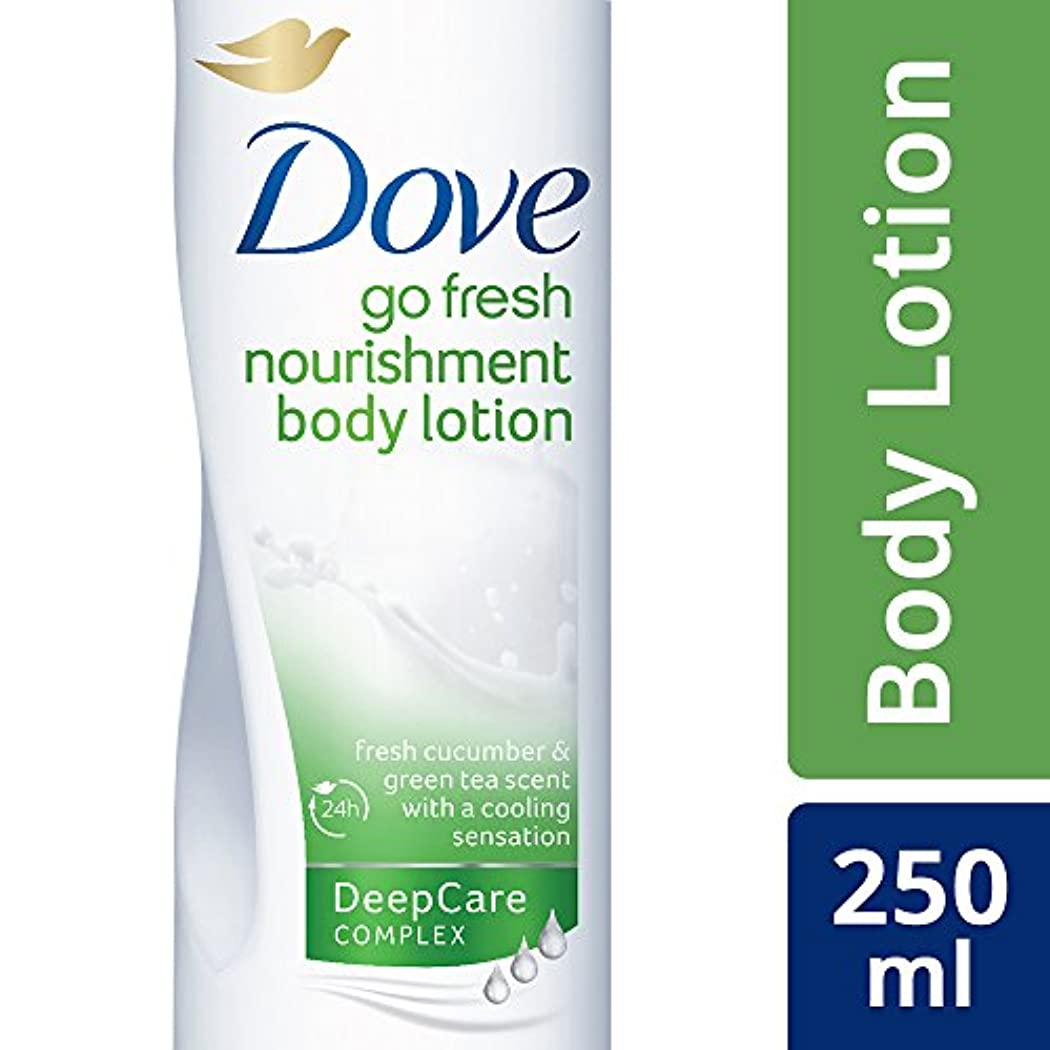 Dove Go Fresh Body Lotion, 250ml (Fresh cucumber & green tea scent with cooling sensation)