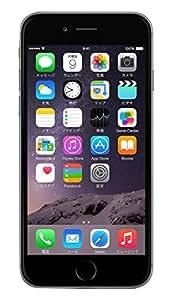 Apple docomo iPhone6 A1586 (MG472J/A) 16GB スペースグレイ