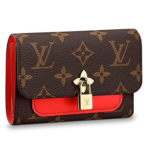 ルイヴィトン LOUIS VUITTON 財布 三つ折り財布 レディース ポルトフォイユ・フラワー コンパクト モノグラム・フラワー M62567 ミニ財布