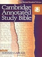 NRSV Cambridge Annotated Study Bible Hardback with jacket NR340 (Bible Nrsv)
