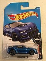 Hot Wheels 2017 Camaro Fifty 2017 Camaro ZL1 360/365 Blue [並行輸入品]