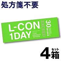 エルコン ワンデー エクシード 1箱30枚入 4箱 【BC】8.7 【PWR】-12.00