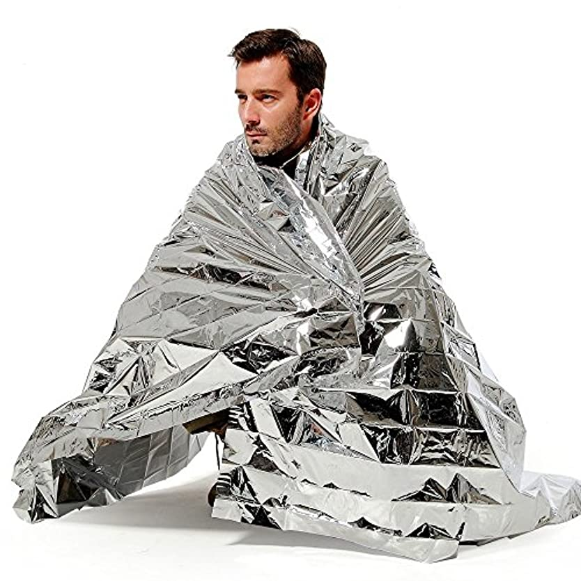 砦しわ無効N-Rit Wind & Waterproof Lightweight Emergency Blanket by N-rit