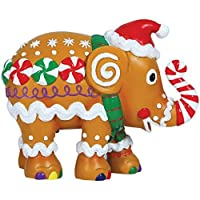 Westland Giftware Elephant Parade Resin Figurine in Tinウィンドウボックス、4.25-inch、Gingerphant by Westland Giftware