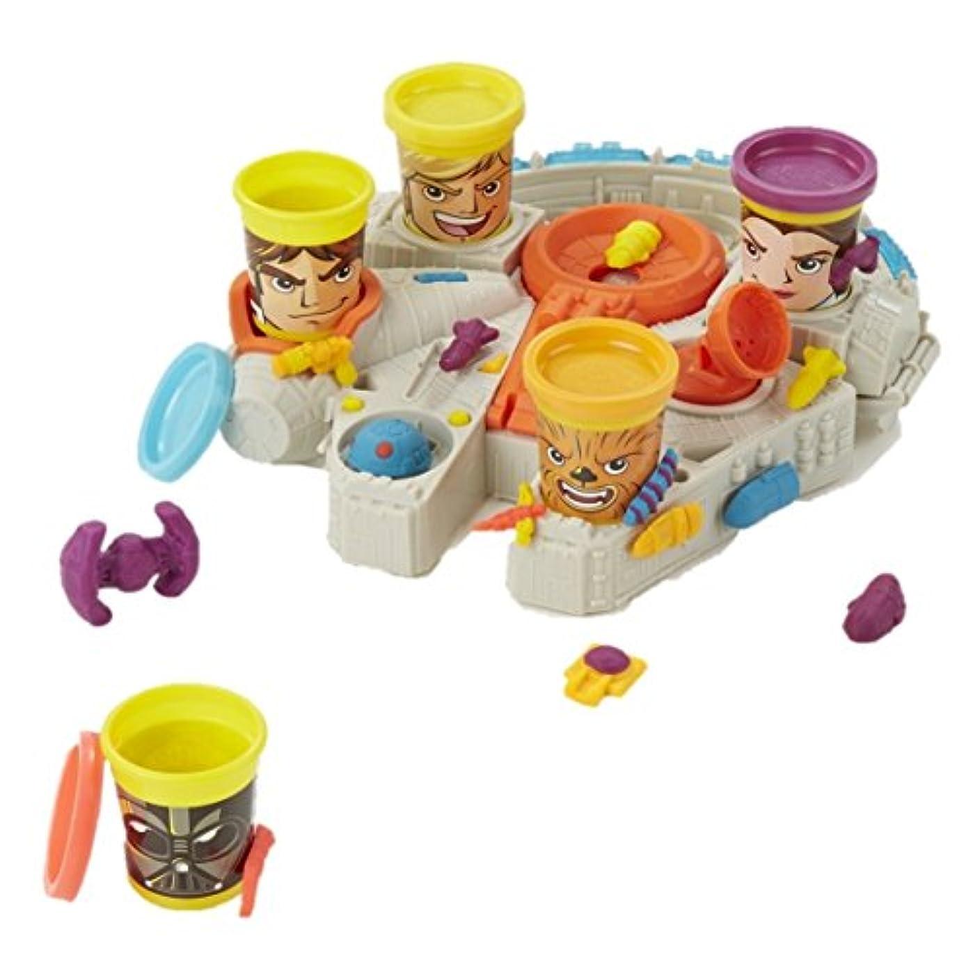 Play-Doh スターウォーズ ミレニアム?ファルコン 缶ヘッド付き (リニュー)