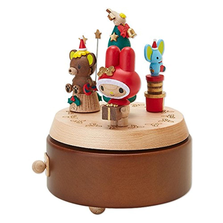 マイメロディ 木製オルゴール(クリスマス)