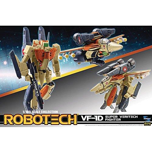 ロボテック/ VF-1D 1/100 アクションフィギュアの詳細を見る