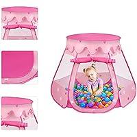 Largeサイズ子テントキッズテント折りたたみスペースポータブル屋内と屋外の楽しいPlays Pink Space Tent