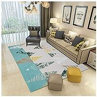 ラグリビングルームの絨毯モダンシンプル幾何学模様敷物パッド教室子供用キッチンカーペットコンテンポラリーまたはモダンインテリアデザイン (Color : G, Size : 160×230cm)