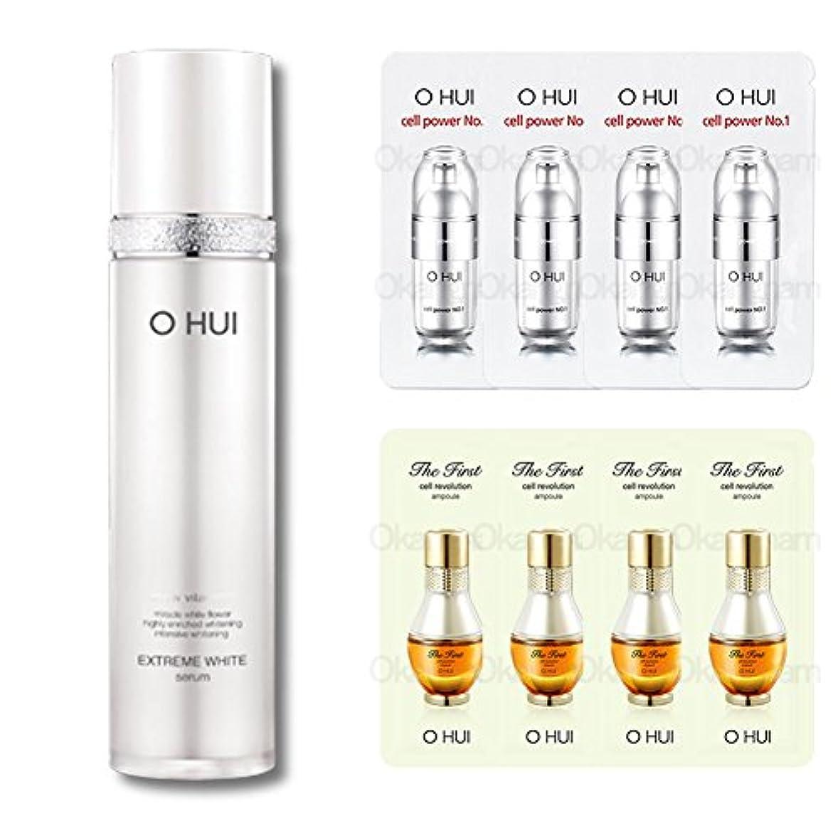 代表して分析的な自殺[オフィ/ O HUI]韓国化粧品 LG生活健康/ OHUI OEW03 EXTREME WHITE SERUM/オフィ エクストリーム ホワイトセラム 45ml【美容液】 +[Sample Gift](海外直送品)