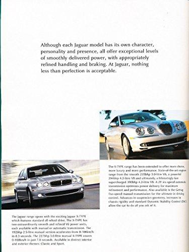 2003ジャガー24-pageカナダCar Sales Brochureカタログ–XJ xj8Sタイプxk8Xタイプ