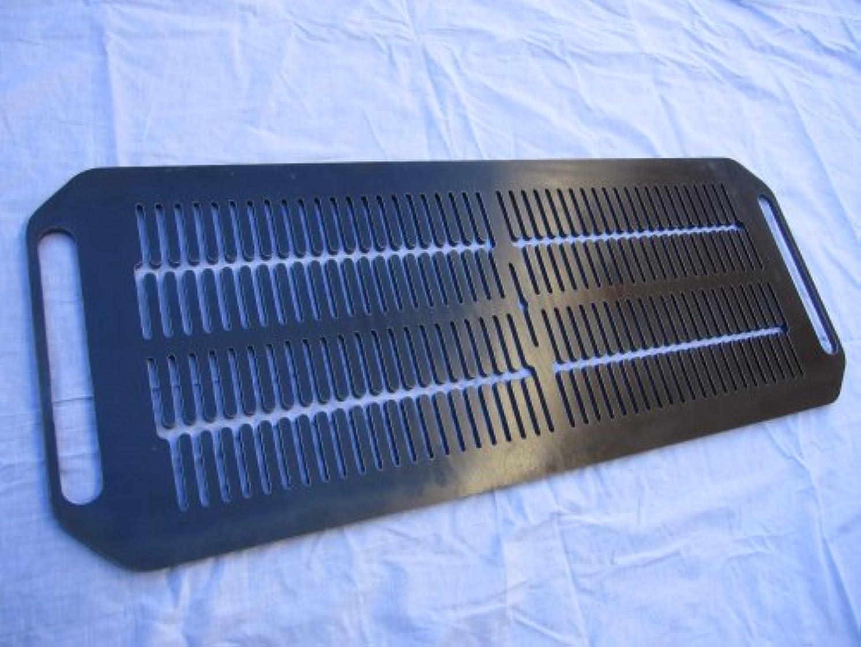 風が強いアラブ人すばらしいです極厚バーベキュー鉄板:溝穴付焼肉鉄板