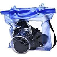 Masvan 一眼レフカメラ 防水ケース 防水袋 デジタルカメラ 防水ケース デジカメ 防水袋 ミラーレス一眼