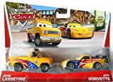 "マテルPixar cars2 2 Pack WGP John Lassetire & Jeff Govette Mattel "" Cars 2 "" World Grand Prix ""ジョン・rasetaiya & Jeff Gorubetto」ジョン・ラセター2014 2つパック"