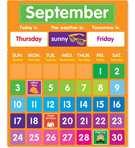 Download Color Your Classroom - Calendar Bulletin Board 1338127802