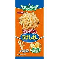 湖池屋 スリムバッグシリーズ コイケヤミニッツ スティックポテト うすしお味 40g