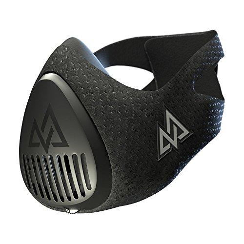 トレーニングマスク3.0 呼吸筋トレーニング 肺活量 持久力 ワンタッチで負荷調整〔アイアンマンチャンピオン、UFCチャンピオンなど多数利用〕短時間で減量 ランニング サッカー バスケ クロスフィット TRAININGMASK