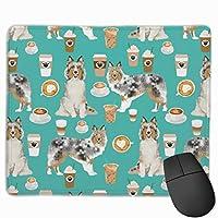 スノードキシーマウスパッド25 x 30 cm